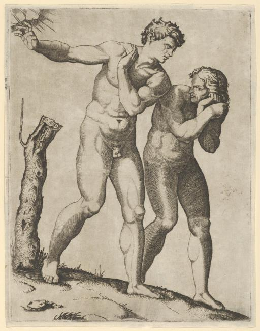 "<a class=""recordlink artists"" href=""/explore/artists/65470"" title=""Marcantonio Raimondi""><span class=""text"">Marcantonio Raimondi</span></a>"