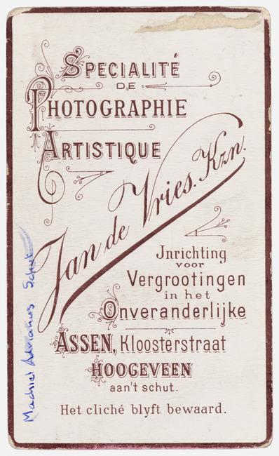 """<a class=""""recordlink artists"""" href=""""/explore/artists/417473"""" title=""""Jan Kz de Vries""""><span class=""""text"""">Jan Kz de Vries</span></a>"""