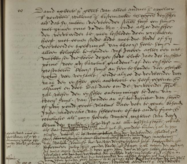 Leiden, 1548-05-18, Schepenbank (Oud Rechterlijk Archief), nummer toegang 0508, inv. no. 42+22 (Wedboek 1547-1548)