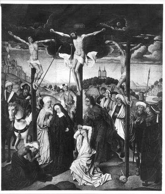 """possibly <a class=""""recordlink artists"""" href=""""/explore/artists/53622"""" title=""""Meester van de Legende van de Heilige Catharina""""><span class=""""text"""">Meester van de Legende van de Heilige Catharina</span></a>"""
