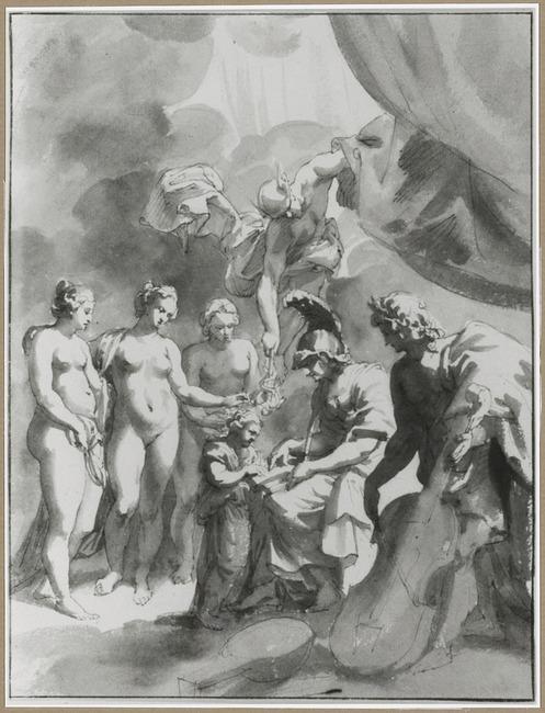 "<a class=""recordlink artists"" href=""/explore/artists/8646"" title=""Jan de Bisschop""><span class=""text"">Jan de Bisschop</span></a> naar <a class=""recordlink artists"" href=""/explore/artists/68737"" title=""Peter Paul Rubens""><span class=""text"">Peter Paul Rubens</span></a>"