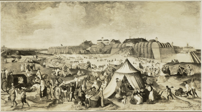 "possibly <a class=""recordlink artists"" href=""/explore/artists/17250"" title=""Marten van Cleve (II)""><span class=""text"">Marten van Cleve (II)</span></a>"
