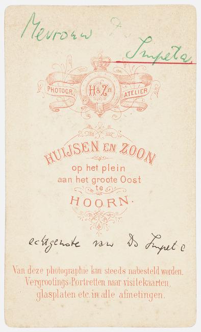 """<a class=""""recordlink artists"""" href=""""/explore/artists/417646"""" title=""""Huijsen & zoon""""><span class=""""text"""">Huijsen & zoon</span></a>"""