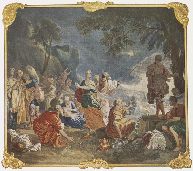 """tapestry workshop of <a class=""""recordlink artists"""" href=""""/explore/artists/1984"""" title=""""Anoniem""""><span class=""""text"""">Anoniem</span></a> 1731-1799 after design of <a class=""""recordlink artists"""" href=""""/explore/artists/60939"""" title=""""Jan van Orley (II)""""><span class=""""text"""">Jan van Orley (II)</span></a> and <a class=""""recordlink artists"""" href=""""/explore/artists/18229"""" title=""""Augustin Coppens""""><span class=""""text"""">Augustin Coppens</span></a>"""