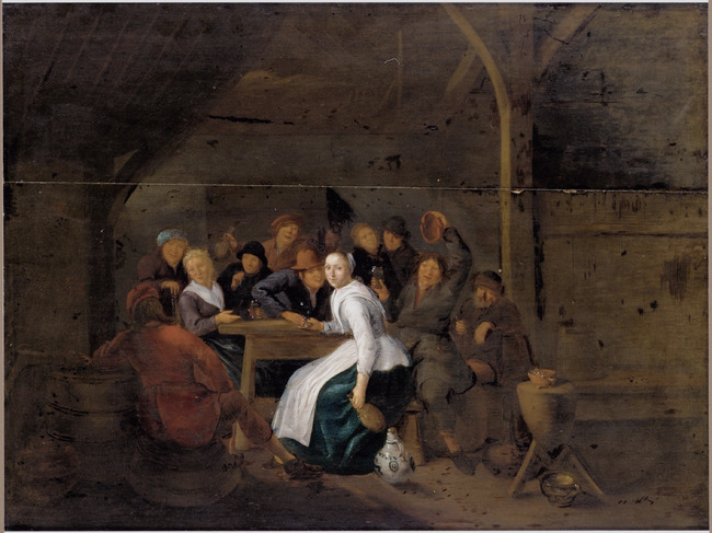 """attributed to <a class=""""recordlink artists"""" href=""""/explore/artists/56664"""" title=""""Jan Miense Molenaer""""><span class=""""text"""">Jan Miense Molenaer</span></a>"""
