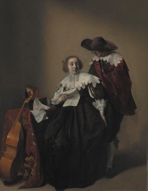 "toegeschreven aan <a class=""recordlink artists"" href=""/explore/artists/25199"" title=""Willem Cornelisz. Duyster""><span class=""text"">Willem Cornelisz. Duyster</span></a>"