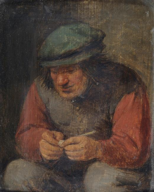 "mogelijk <a class=""recordlink artists"" href=""/explore/artists/13036"" title=""Adriaen Brouwer""><span class=""text"">Adriaen Brouwer</span></a>"