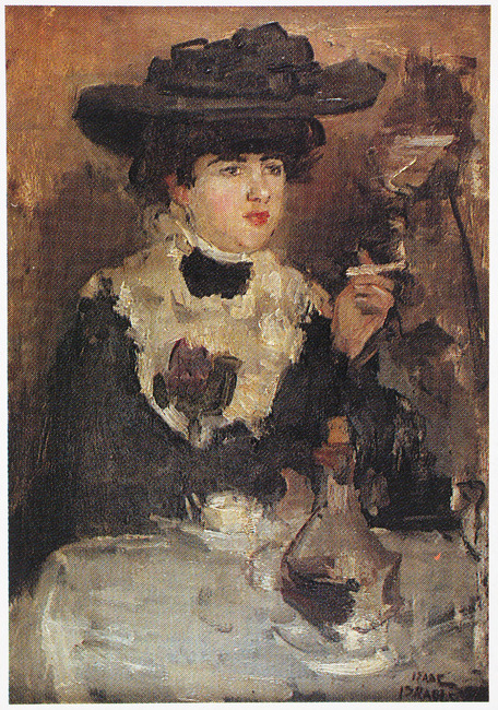 """<a class=""""recordlink artists"""" href=""""/explore/artists/41175"""" title=""""Isaac Israels""""><span class=""""text"""">Isaac Israels</span></a>"""
