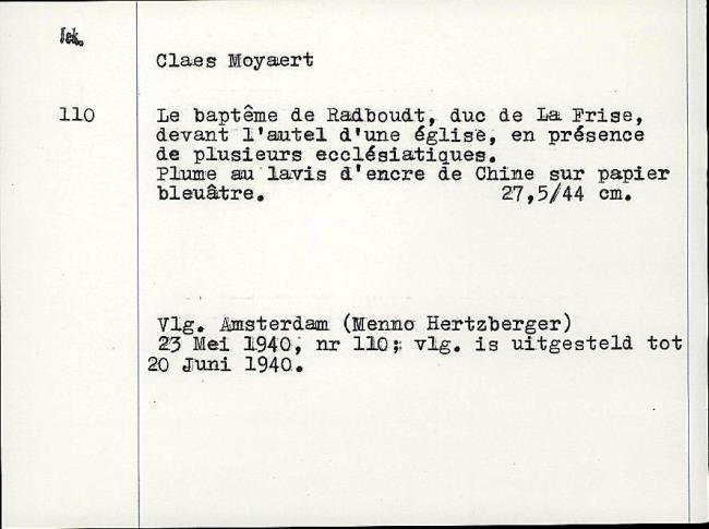 Moeyaert, Claes, card number 1327334
