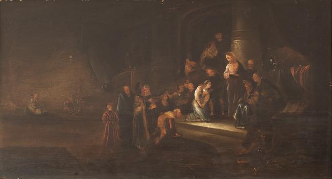 """studio of <a class=""""recordlink artists"""" href=""""/explore/artists/83916"""" title=""""Jacob de Wet (I)""""><span class=""""text"""">Jacob de Wet (I)</span></a>"""