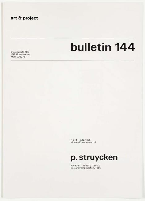 Art & Project Bulletin #144