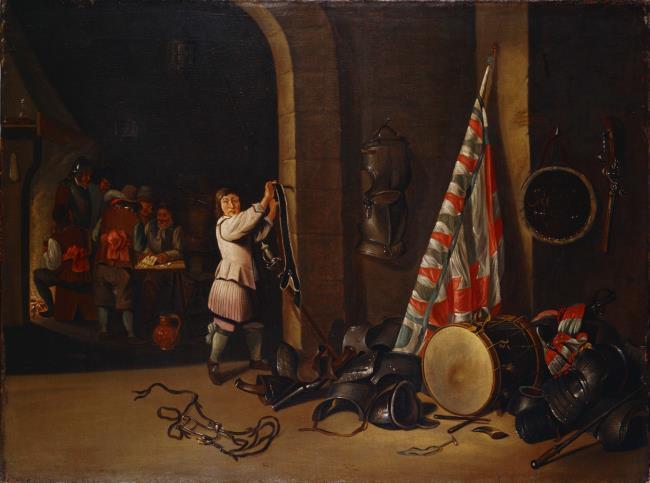 "<a class=""recordlink artists"" href=""/explore/artists/37098"" title=""Wolfgang Heimbach""><span class=""text"">Wolfgang Heimbach</span></a> naar <a class=""recordlink artists"" href=""/explore/artists/76786"" title=""David Teniers (II)""><span class=""text"">David Teniers (II)</span></a>"