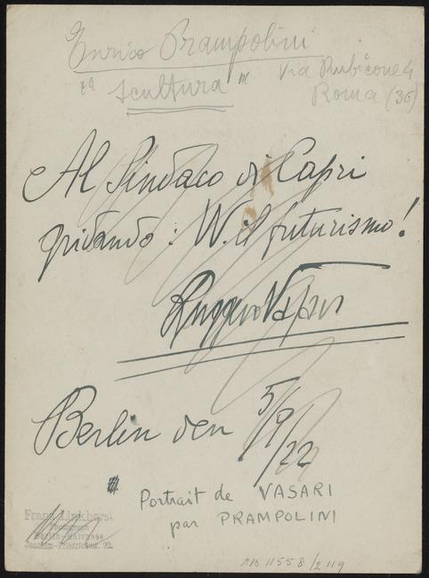 "<a class=""recordlink artists"" href=""/explore/artists/64651"" title=""Enrico Prampolini""><span class=""text"">Enrico Prampolini</span></a>"