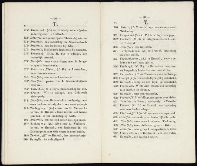 Tom, Jan Bedijs, catalogusnummer 382, 1841, Een landschap met vee
