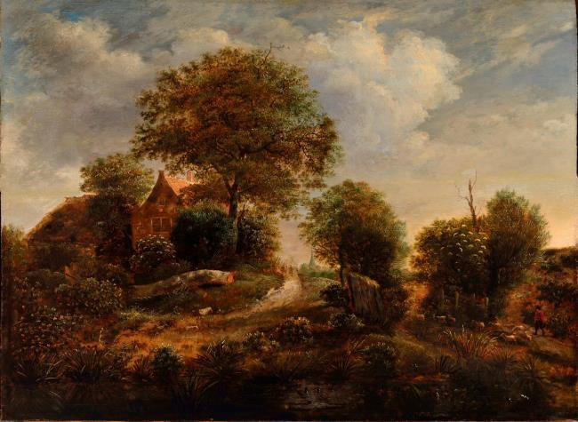 "possibly <a class=""recordlink artists"" href=""/explore/artists/36910"" title=""Gerrit van Hees""><span class=""text"">Gerrit van Hees</span></a>"