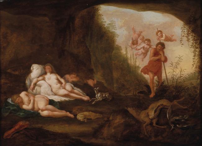 "<a class=""recordlink artists"" href=""/explore/artists/19492"" title=""Abraham van Cuylenborch (I)""><span class=""text"">Abraham van Cuylenborch (I)</span></a>"