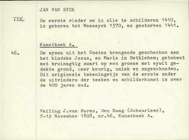 Eyck, Jan van, card number 1145946