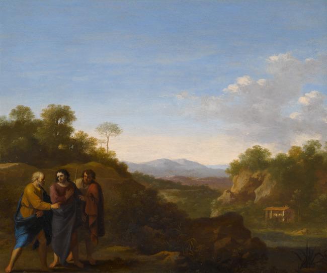"attributed to <a class=""recordlink artists"" href=""/explore/artists/63962"" title=""Cornelis van Poelenburch""><span class=""text"">Cornelis van Poelenburch</span></a>"
