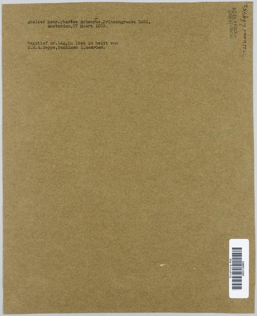 """<a class=""""recordlink artists"""" href=""""/explore/artists/1984"""" title=""""Anoniem""""><span class=""""text"""">Anoniem</span></a> <a class=""""thesaurus"""" href=""""/en/explore/thesaurus?term=385&domain=PLAATS"""" title=""""Nederland"""" >Nederland</a> 27 maart 1903 gedateerd"""