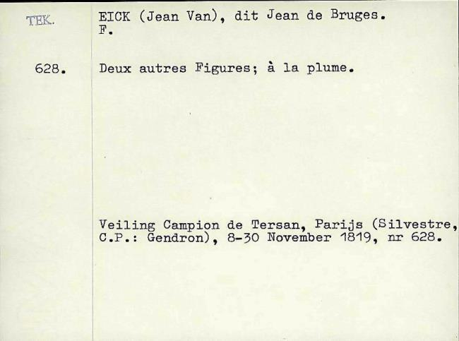 Eyck, Jan van, card number 1145950