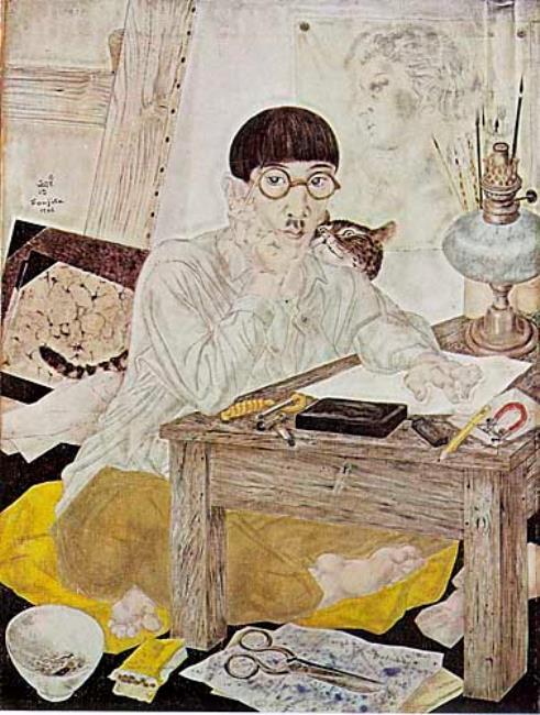 "<a class=""recordlink artists"" href=""/explore/artists/28773"" title=""Tsugouharu Leonard Foujita""><span class=""text"">Tsugouharu Leonard Foujita</span></a>"