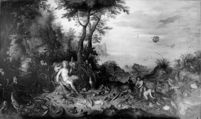 """attributed to <a class=""""recordlink artists"""" href=""""/explore/artists/13288"""" title=""""Jan Brueghel (I)""""><span class=""""text"""">Jan Brueghel (I)</span></a> and <a class=""""recordlink artists"""" href=""""/explore/artists/4015"""" title=""""Hendrick van Balen (I)""""><span class=""""text"""">Hendrick van Balen (I)</span></a>"""
