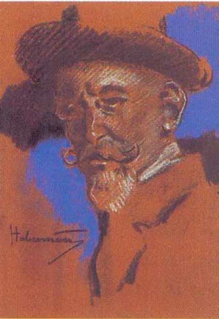 """<a class=""""recordlink artists"""" href=""""/explore/artists/35049"""" title=""""Hugo von Habermann""""><span class=""""text"""">Hugo von Habermann</span></a>"""