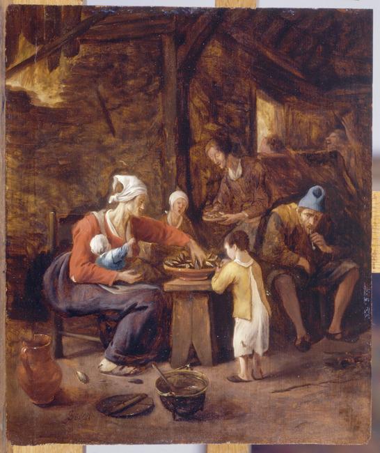 """toegeschreven aan <a class=""""recordlink artists"""" href=""""/explore/artists/74809"""" title=""""Jan Steen""""><span class=""""text"""">Jan Steen</span></a>"""