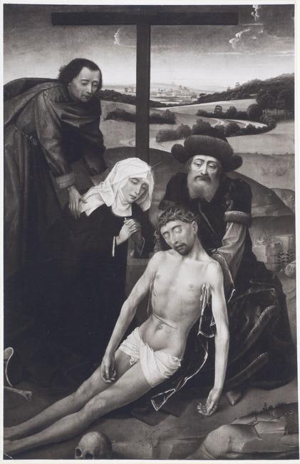 """follower of <a class=""""recordlink artists"""" href=""""/explore/artists/83963"""" title=""""Rogier van der Weyden""""><span class=""""text"""">Rogier van der Weyden</span></a>"""