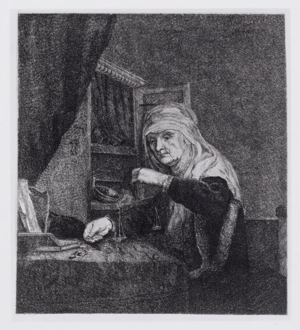 "<a class=""recordlink artists"" href=""/explore/artists/321402"" title=""Johann Anton Riedel""><span class=""text"">Johann Anton Riedel</span></a> after follower of <a class=""recordlink artists"" href=""/explore/artists/66219"" title=""Rembrandt""><span class=""text"">Rembrandt</span></a>"