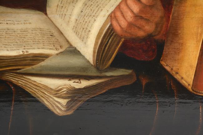 "attributed to <a class=""recordlink artists"" href=""/explore/artists/7159"" title=""Gillis Gillisz. de Bergh""><span class=""text"">Gillis Gillisz. de Bergh</span></a>"