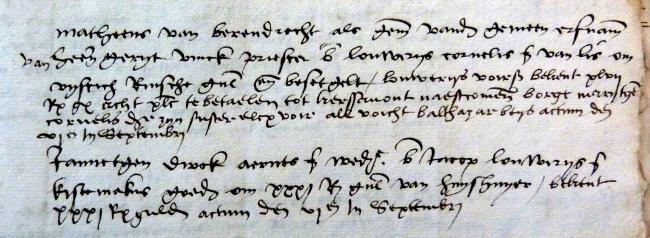 Leiden, 1527-08-30, Schepenbank (Oud Rechterlijk Archief), nummer toegang 0508, inv. nr. 42+4 (Wedboek 1526-1527)