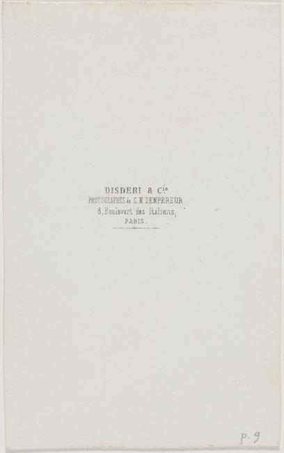 "<a class=""recordlink artists"" href=""/explore/artists/267978"" title=""Disdéri & Cie""><span class=""text"">Disdéri & Cie</span></a>"