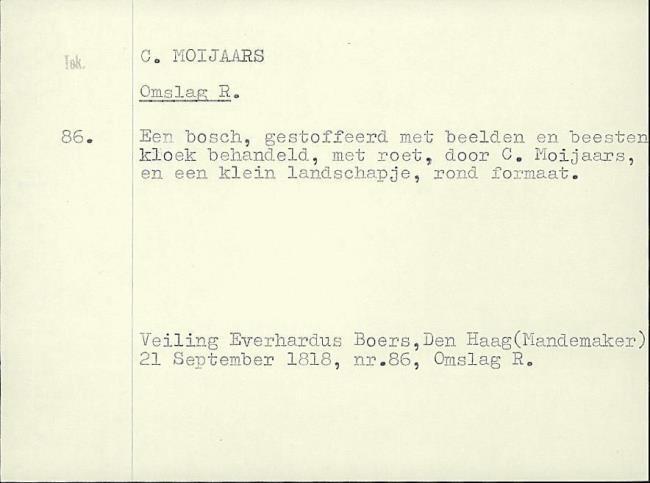 Moeyaert, Claes, card number 1327343