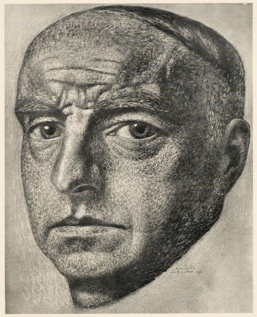 Zelfportret van Leo Gestel (1881-1941)
