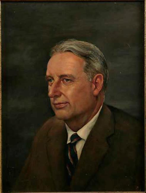 Portret van Henri Phoenix Boddaert (1909-1984)