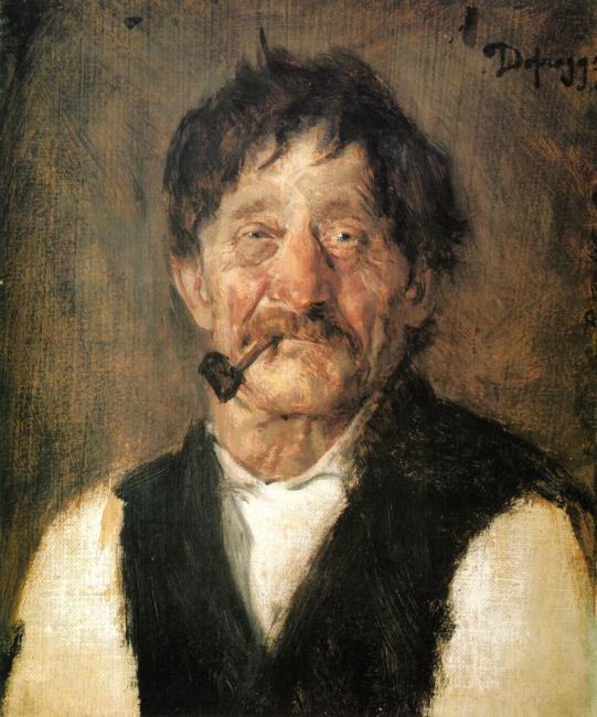 "<a class=""recordlink artists"" href=""/explore/artists/21399"" title=""Franz von Defregger""><span class=""text"">Franz von Defregger</span></a>"