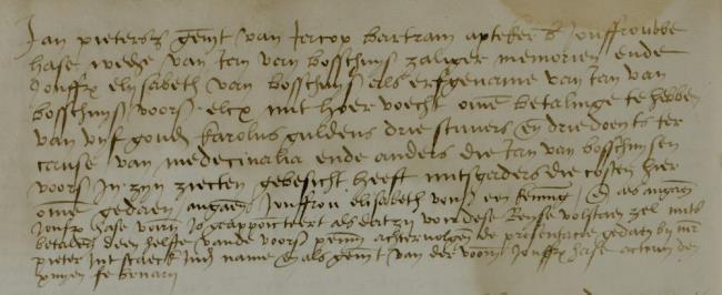 Leiden, 1536-02-07, Schepenbank (Oud Rechterlijk Archief), nummer toegang 0508, inv. no. 42+9 (Wedboek 1535-1536)