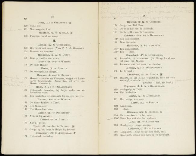 Hendriks, Sara, catalogusnummer 182, 1871, Eene fantasie