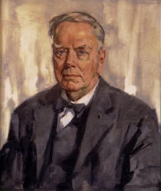 Portret van Karel Paul van der Mandele (1880-1975)