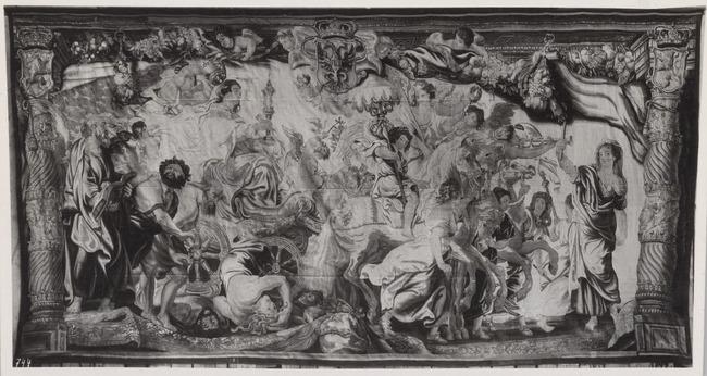 "tapestry workshop of <a class=""recordlink artists"" href=""/explore/artists/426362"" title=""Frans van den Hecke (I)""><span class=""text"">Frans van den Hecke (I)</span></a> after design of <a class=""recordlink artists"" href=""/explore/artists/68737"" title=""Peter Paul Rubens""><span class=""text"">Peter Paul Rubens</span></a>"