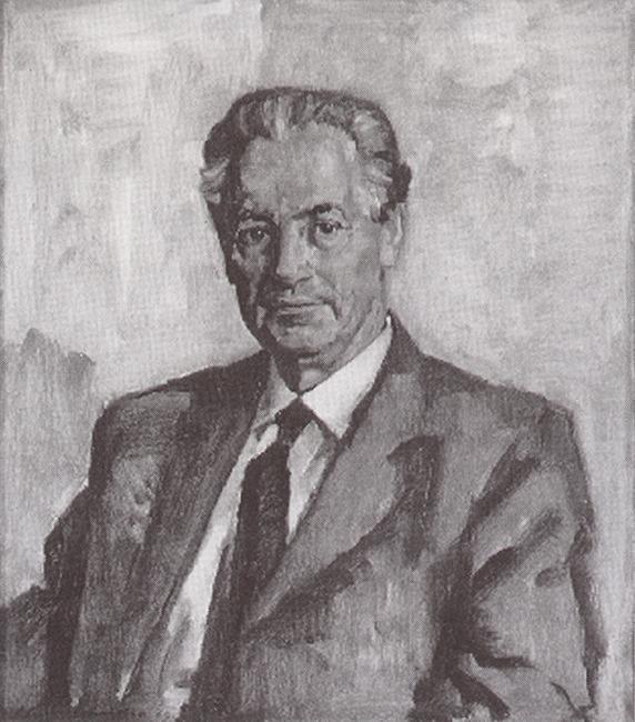 Portret van P. Formijne