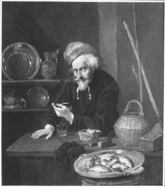 "attributed to <a class=""recordlink artists"" href=""/explore/artists/12321"" title=""Quiringh van Brekelenkam""><span class=""text"">Quiringh van Brekelenkam</span></a>"