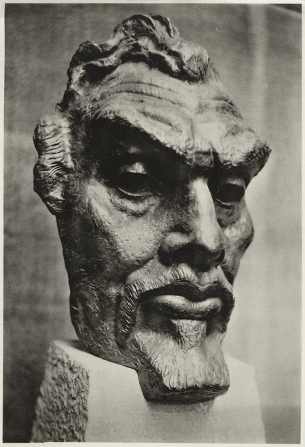 Maskerkop van Jan Toorop (1858-1928)