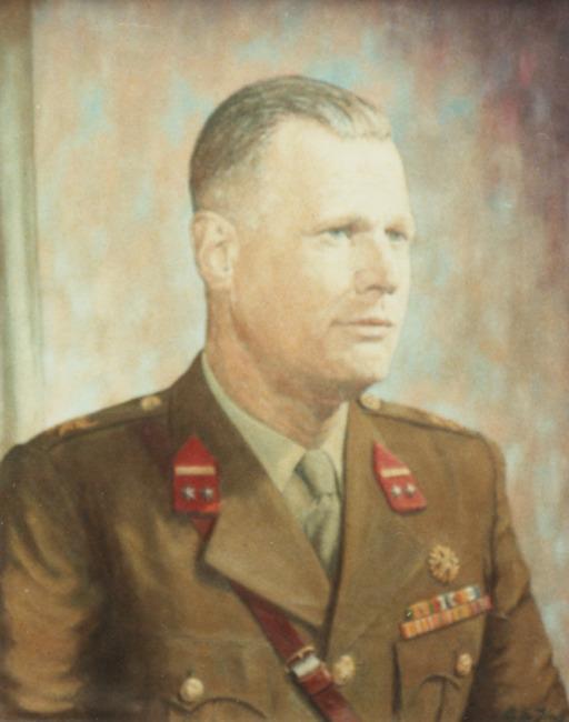 Portret van Nicolaas Berghuijs (1916- )