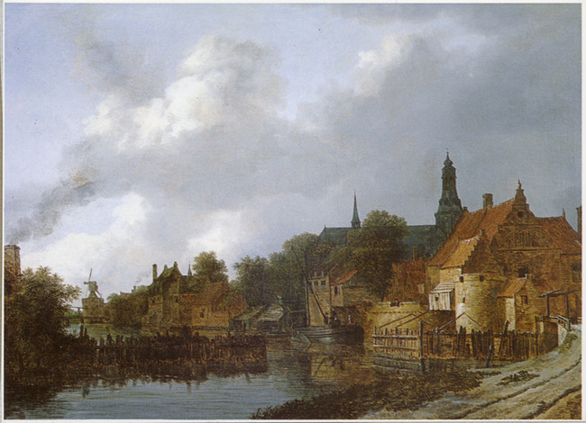 """attributed to <a class=""""recordlink artists"""" href=""""/explore/artists/68834"""" title=""""Isaack van Ruisdael""""><span class=""""text"""">Isaack van Ruisdael</span></a>"""