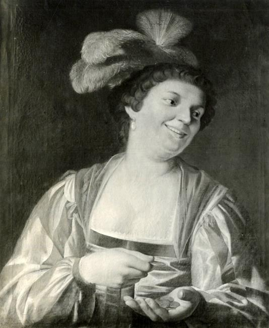 """attributed to <a class=""""recordlink artists"""" href=""""/explore/artists/39445"""" title=""""Gerard van Honthorst""""><span class=""""text"""">Gerard van Honthorst</span></a>"""