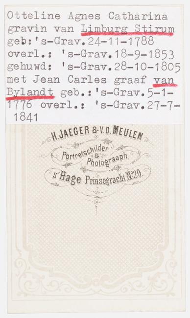 """<a class=""""recordlink artists"""" href=""""/explore/artists/419503"""" title=""""H. Jaeger & v.d. Meulen""""><span class=""""text"""">H. Jaeger & v.d. Meulen</span></a>"""