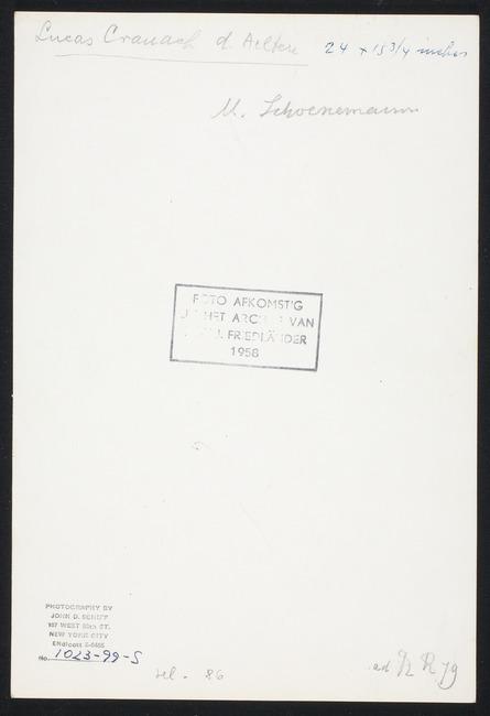 "studio of <a class=""recordlink artists"" href=""/explore/artists/18978"" title=""Lucas Cranach (I)""><span class=""text"">Lucas Cranach (I)</span></a>"
