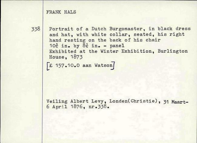 Hals, Frans (I), fichenummer 1203199
